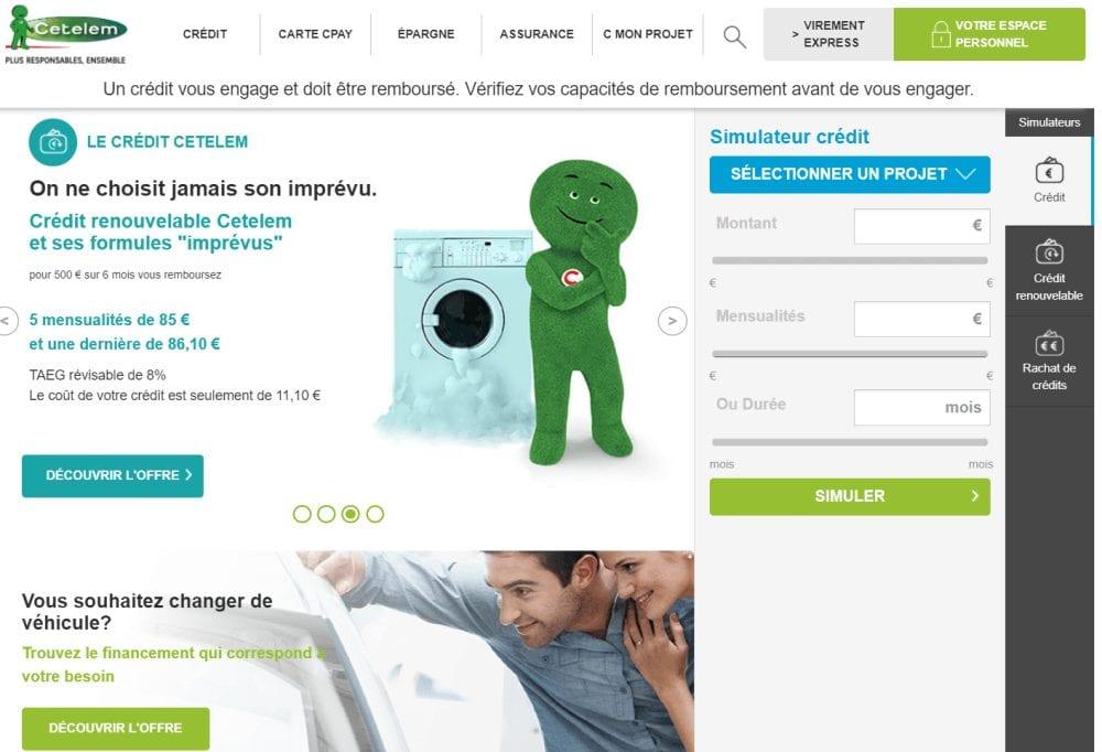 Cetelem Contacter Service Client