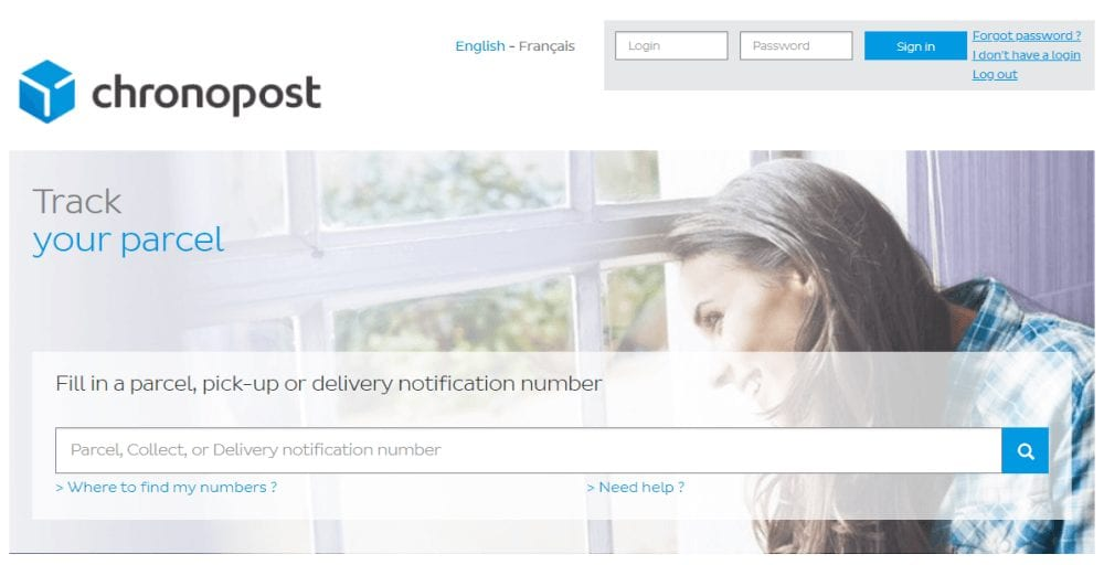 Service Client Chronopost International