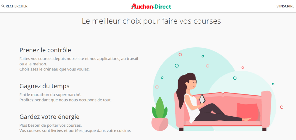Auchan Direct Service Client