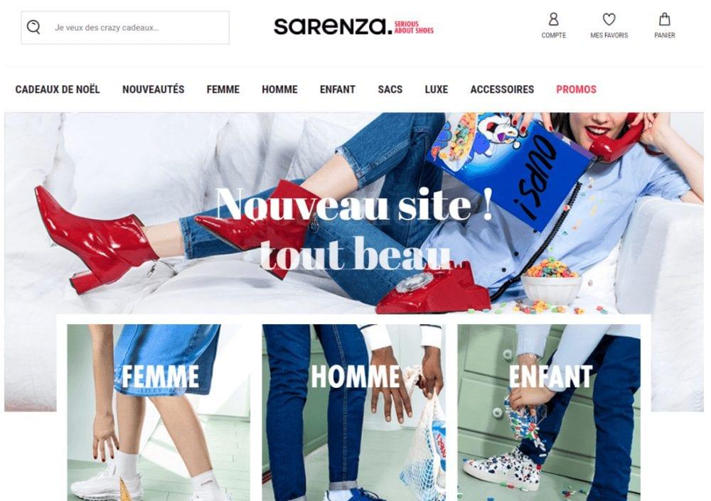 Sarenza Contracter Service Client